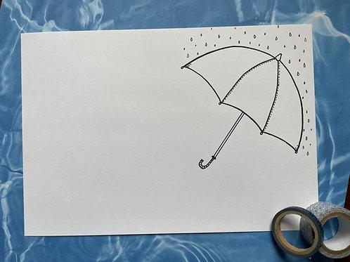 Spring Showers trio set