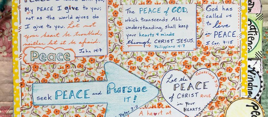 Bible Quilting through Crisis