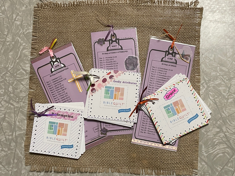 Bookmarks and flip card sets