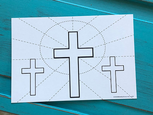 Crosses on Stained Glass, combo