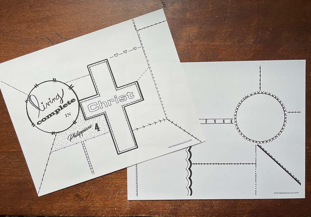 BQJ templates for Philippians Chapter 4