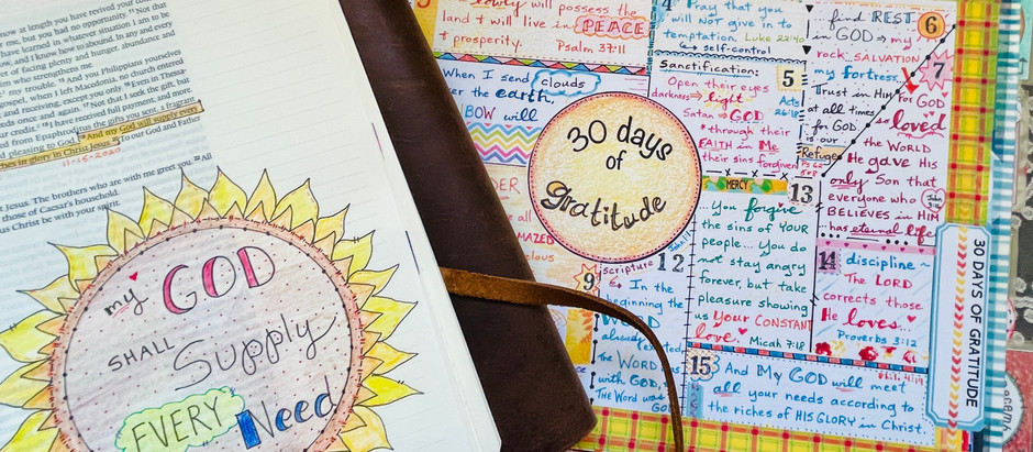 Bible Quilting + Bible Journaling = Saturation in the Word