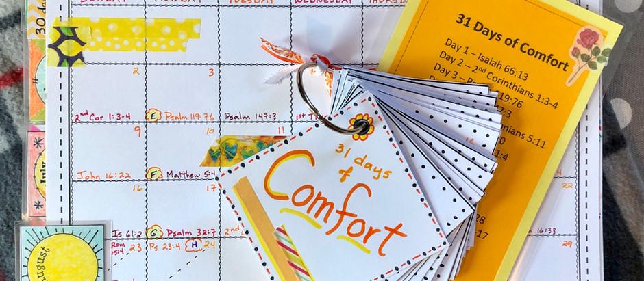 31 Days of Comfort