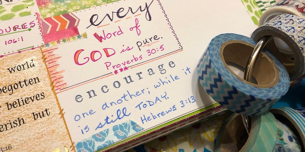 Bible Quilt Journal: Summer Kickoff!