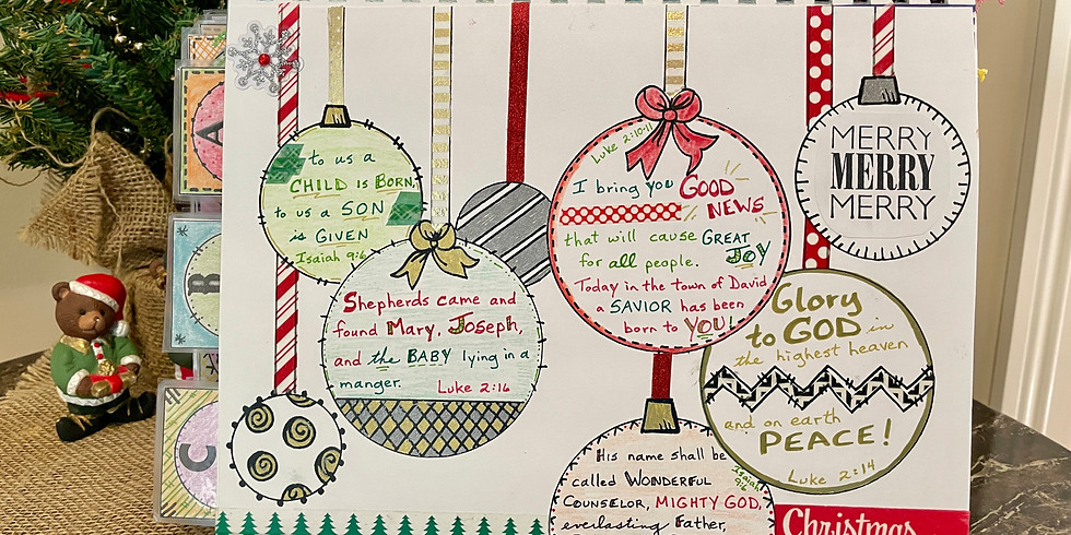 December Bible Quilting IN-PERSON session