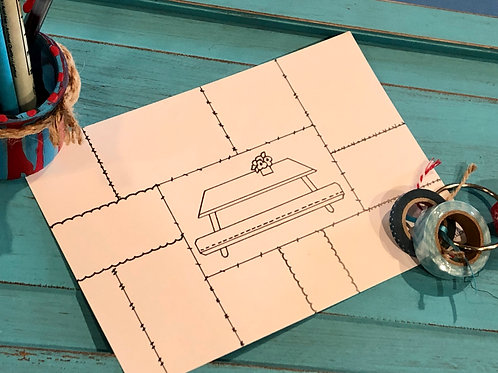 Picnic Table template
