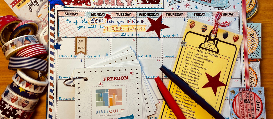 31 Days of Freedom