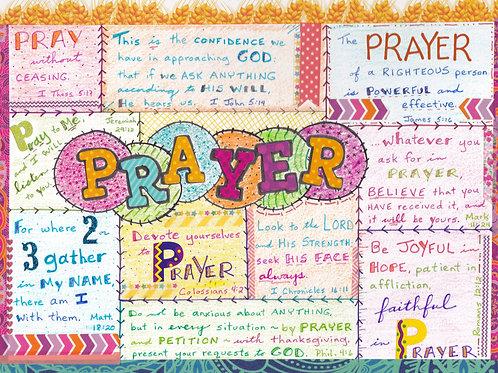 Prayer template