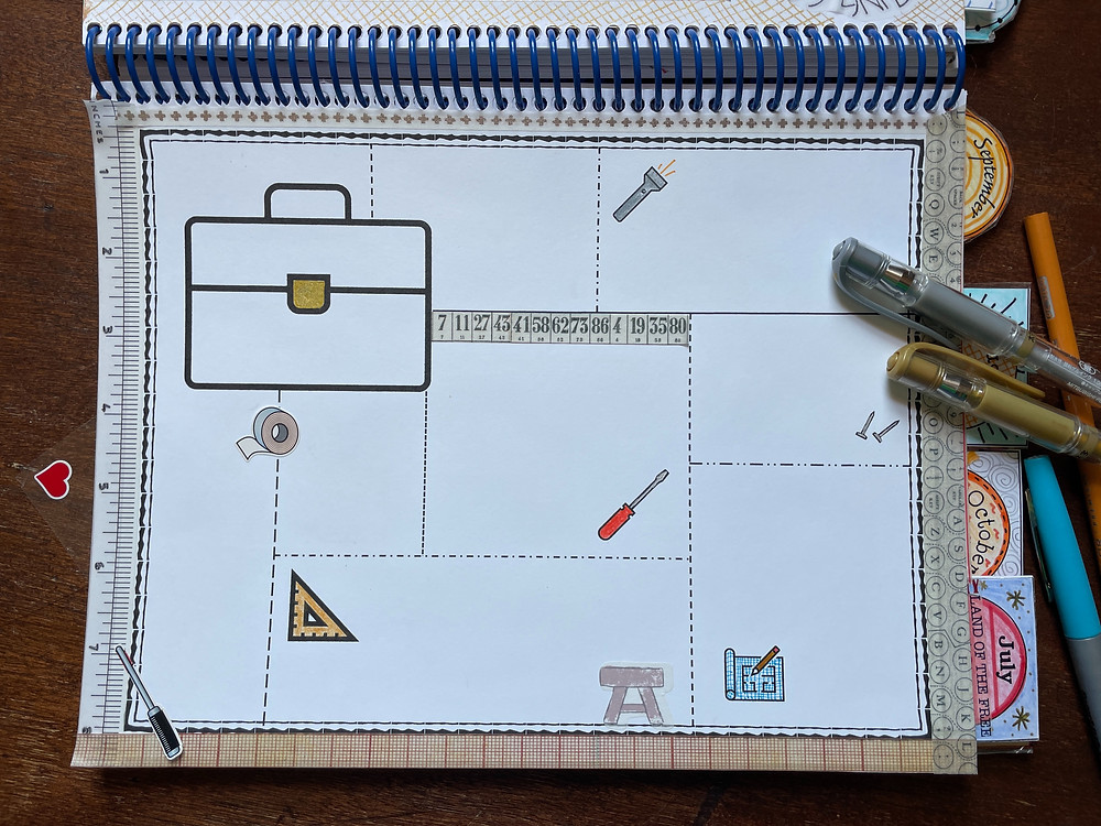 toolbox template for Bible Quilt Journal