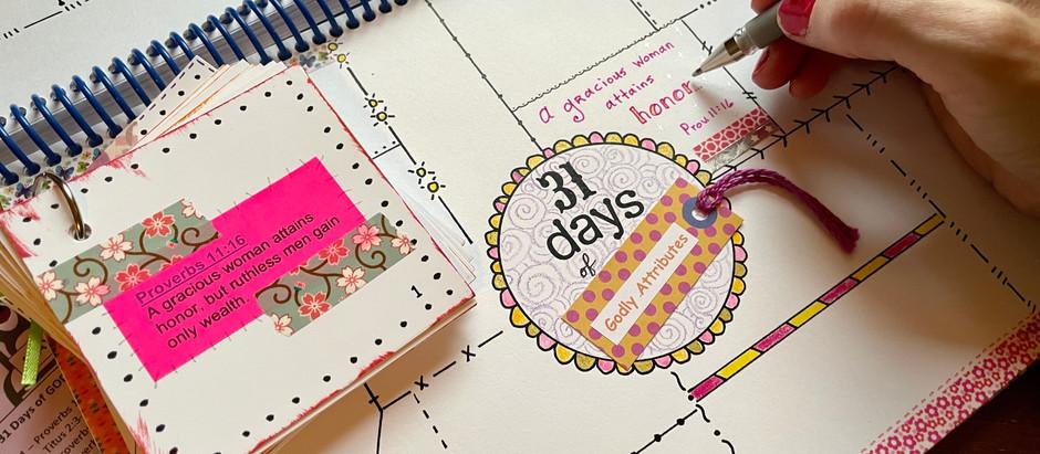 31 Days of Godly Attributes