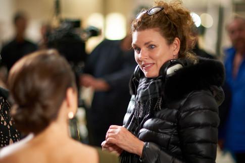 Director Mairi Cameron with Rachael Blake.jpg