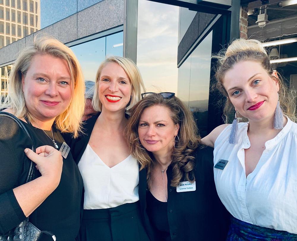 Verena Gräfe-Höft, Sophie Green, Leanne Tonkes & Tessa Inkelaar