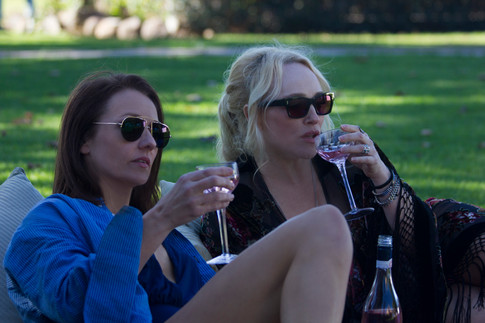The Writer (Rachael Blake) and Muse (Susie Porter) relaxing - S.Lance.jpg