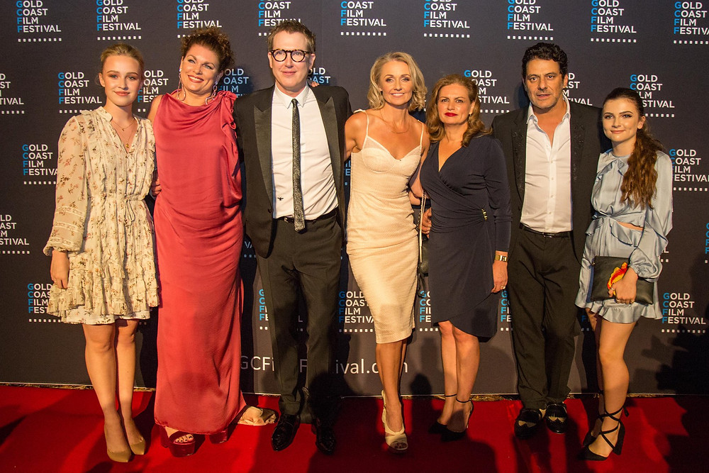 Actor Bridget Webb, Director Mairi Cameron, Writer/Producer Stephen Lance, Lead Actor Rachael Blake, Producer Leanne Tonkes, Lead Actor Vince Colosimo, Actor Megan Dale
