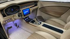 37 Ford Hotrod interior