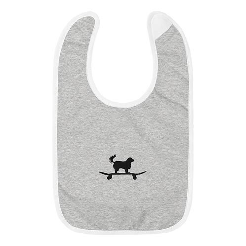 Murdy Embroidered Baby Bib