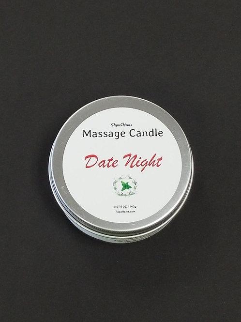 """Papa Ham's Massage Candle -    """"Date Night"""""""