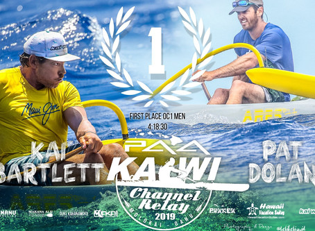 My 10th Molokai Relay Win