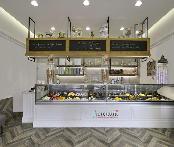 Fiorentini heladería proyecto Casa-italia