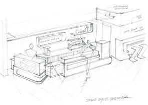 Layout proyecto heladería, asesoría Casa-Italia