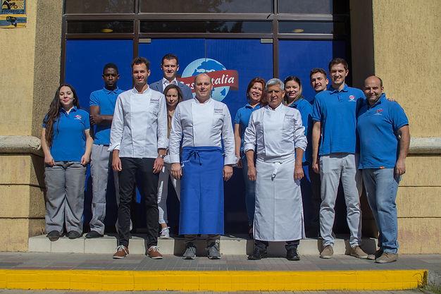 Equipo Casa-Italia, con los mejores Chefs de Chile, Quilicura, Santiago