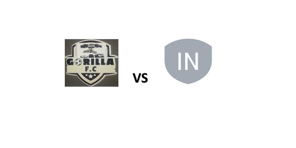 GORILLA FC VS INTERFORCE FC