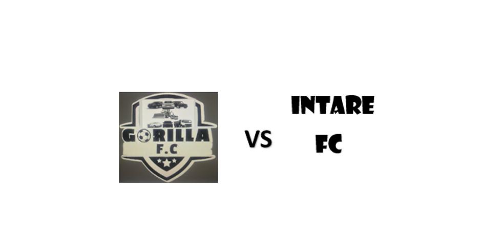 GORILLA FC VS INTARE FC