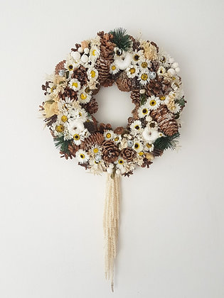 Dried Flower Wreath (Indoor only)