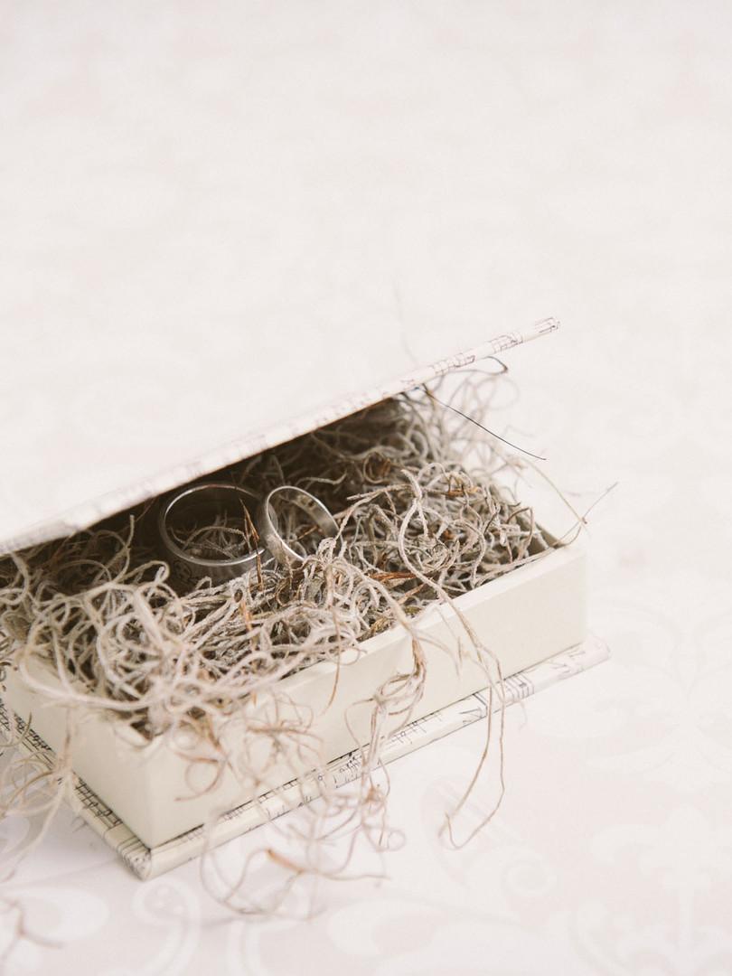 Sheet music ring box