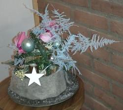 Alternatief kerststukje