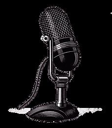 Katalina's Old fashioned microphone