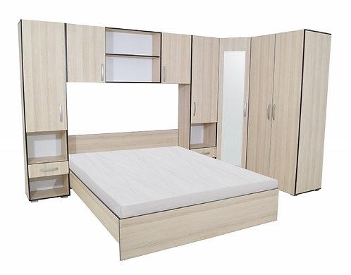 Bedroom Madrid – Light Elm & Wenge