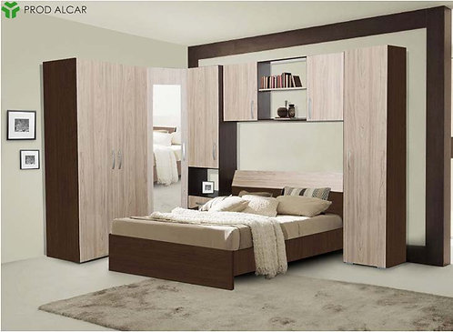 Bedroom Madrid – Elm & Wenge