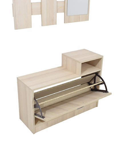 Hanger & Shoe Cabinet