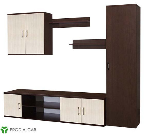 Living Room Set – Wenge & Ferrara Oak