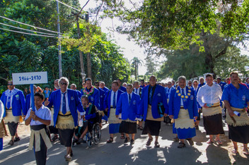 FMFK Toloa old boys year 1968 march thro