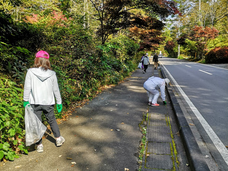 【風越ランニングサークル】地域に貢献!ゴミ拾いウォーク!