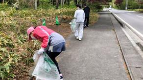 【風越ランニングサークル】ゴミ拾い実施!