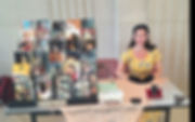 me author fair aug 2018 (32 books at tim