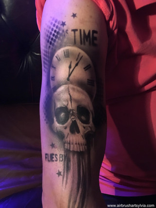 Airbrush Tattoo 3D