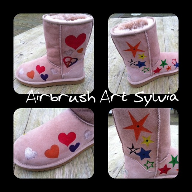 UGG Bijenkorf Custom Paint