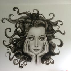 """Muurschildering """" Alina Umbres"""""""