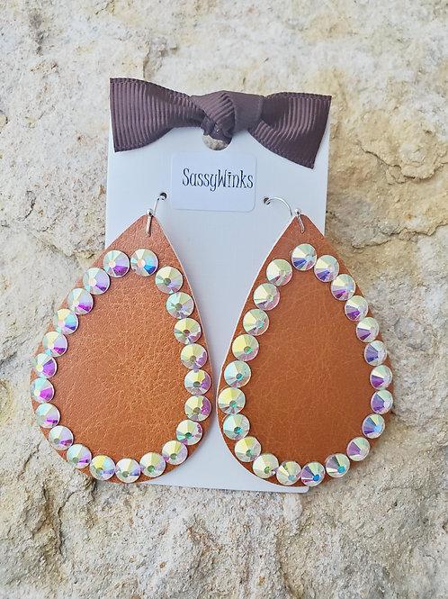 Pumpkin Pie Sparkle Teardrops (657)