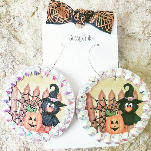 Halloween Round Sparkles (129)