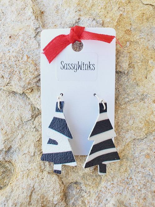 Zebra Christmas Tree Minis (258)