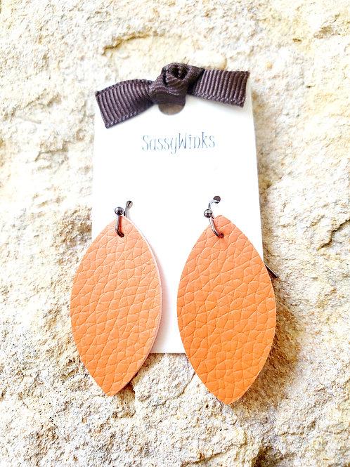 Orange Mini Teardrops (131)