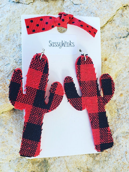 Buffalo Plaid Cactus (412)