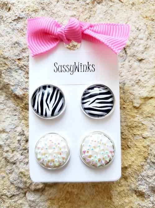 Zebra Studs (139)