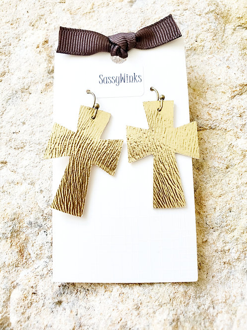 Mini Gold Crosses (108)