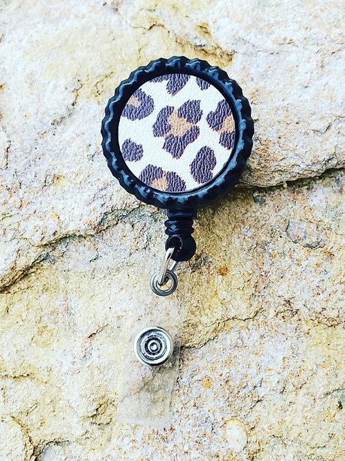 Cheetah Badge Reel
